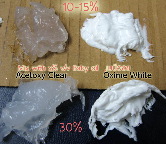 piece_silicone_glue_with_Babyoil_10percent_to_30P