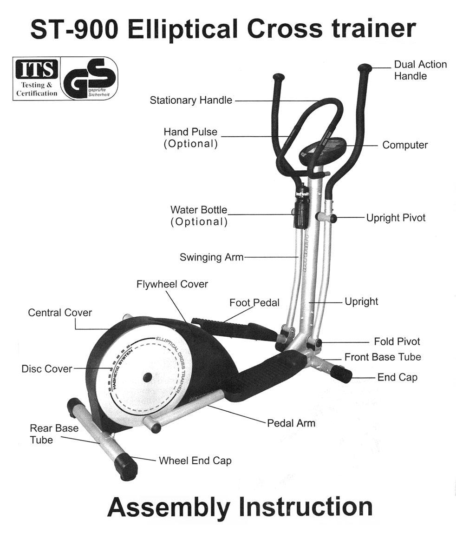 Description_Elliptical Cross trainer  infiniti  GT-900
