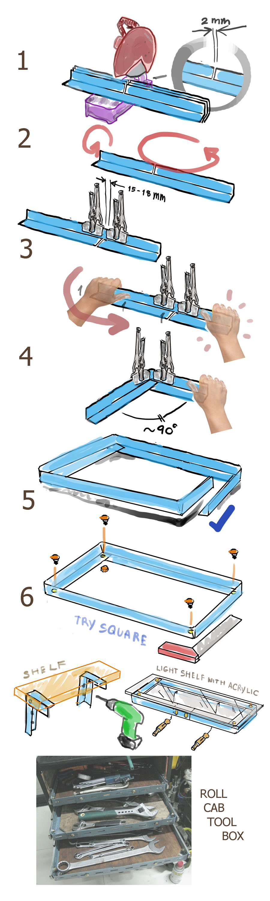 slotted-angle-shelf-fold-procedure1