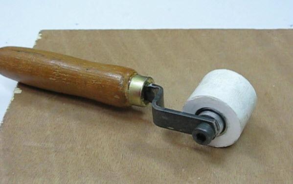 ลูกกลิ้งซิลิโคน(สำหรับกดกลิ้งร้อนเชื่อมแผ่นคูนิล่อน) DIY-pressure silicone roller from (silicone glue) for Tarpaulin welding